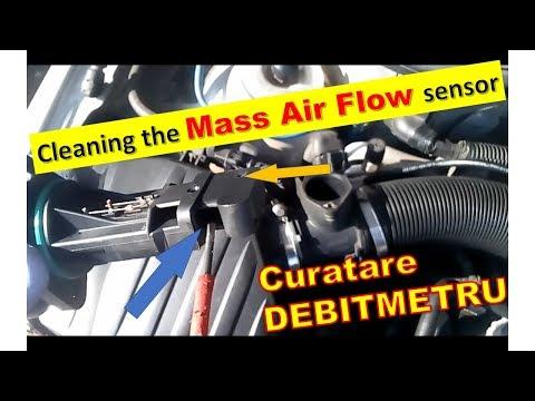 Curatare Debitmetru Corsa C   How to Clean a Mass Air Flow sensor