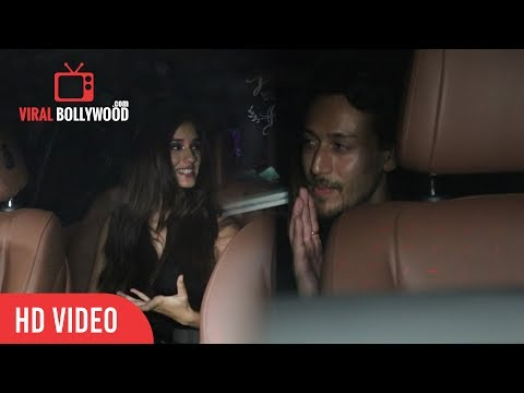 Tiger Shroff And Disha Patani At Karan Johar Birthday Grand Party thumbnail