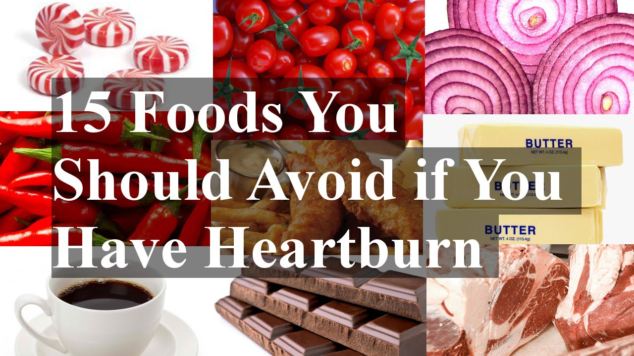 Foods To Eat When U Have Heartburn