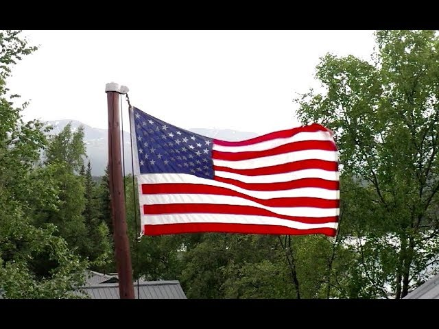 Military Couples Celebrate Independence Day in Alaska