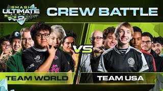 USA vs The World Crew Battle - Smash Ultimate Summit 2