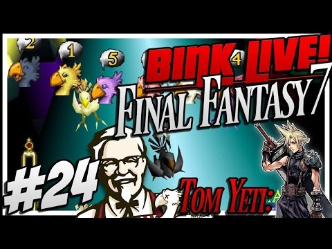 Final Fantasy VII (stream) #24 - Chocobo Racing