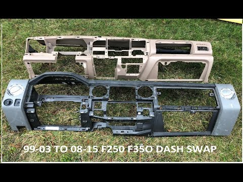 DASH SWAP F-250 / F350 Compare