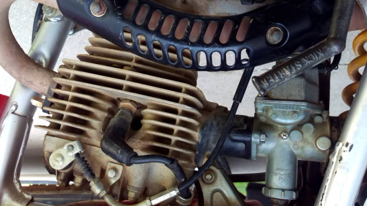 2002 xr200r engine idle [ 1280 x 720 Pixel ]
