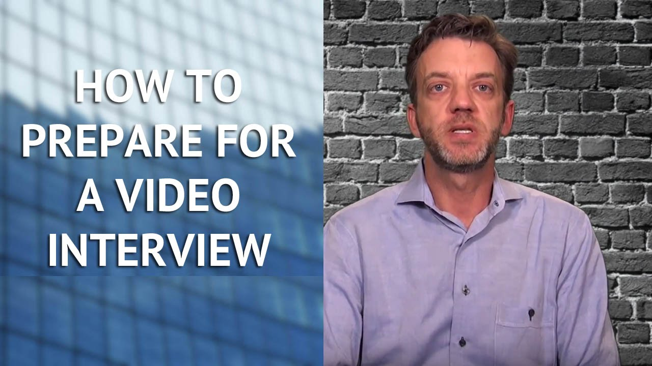 how to prepare for a video interview how to prepare for a video interview