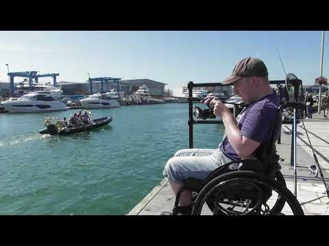 Catching Mackerel On Poole Quay
