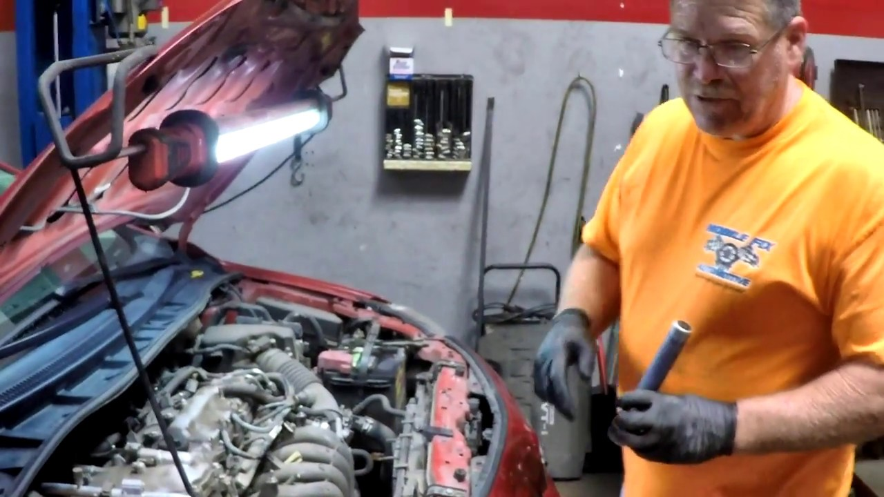 2009 Toyota Corolla 1 8 water pump replacement