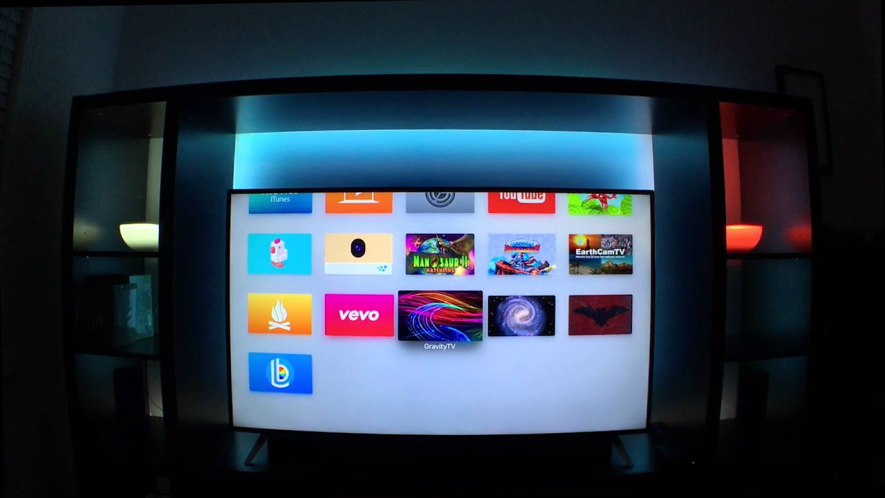 Hue TV app for iOS and Philips LIghts