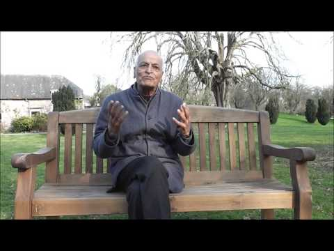 Talk by Satish Kumar on Wellbeing