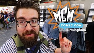 MCM Birmingham Comic Con March 2019 Vlog