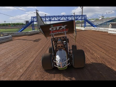 iRacing DIRT gameplay ► Williams Grove Speedway ► Dirt Sprint Car 410