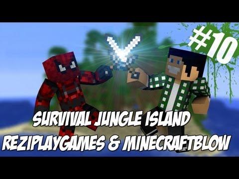 Survival Jungle Island #10 - Księżyc w Minecraft ma 64 piksele