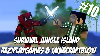 Survival Jungle Island #10 - Księżyc w Minecraft ma 64 piksele