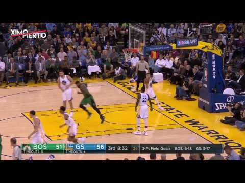 Boston Celtics vs Golden State Warriors - Full Game Highlights | March 8, 2017 | 2016-17 NBA