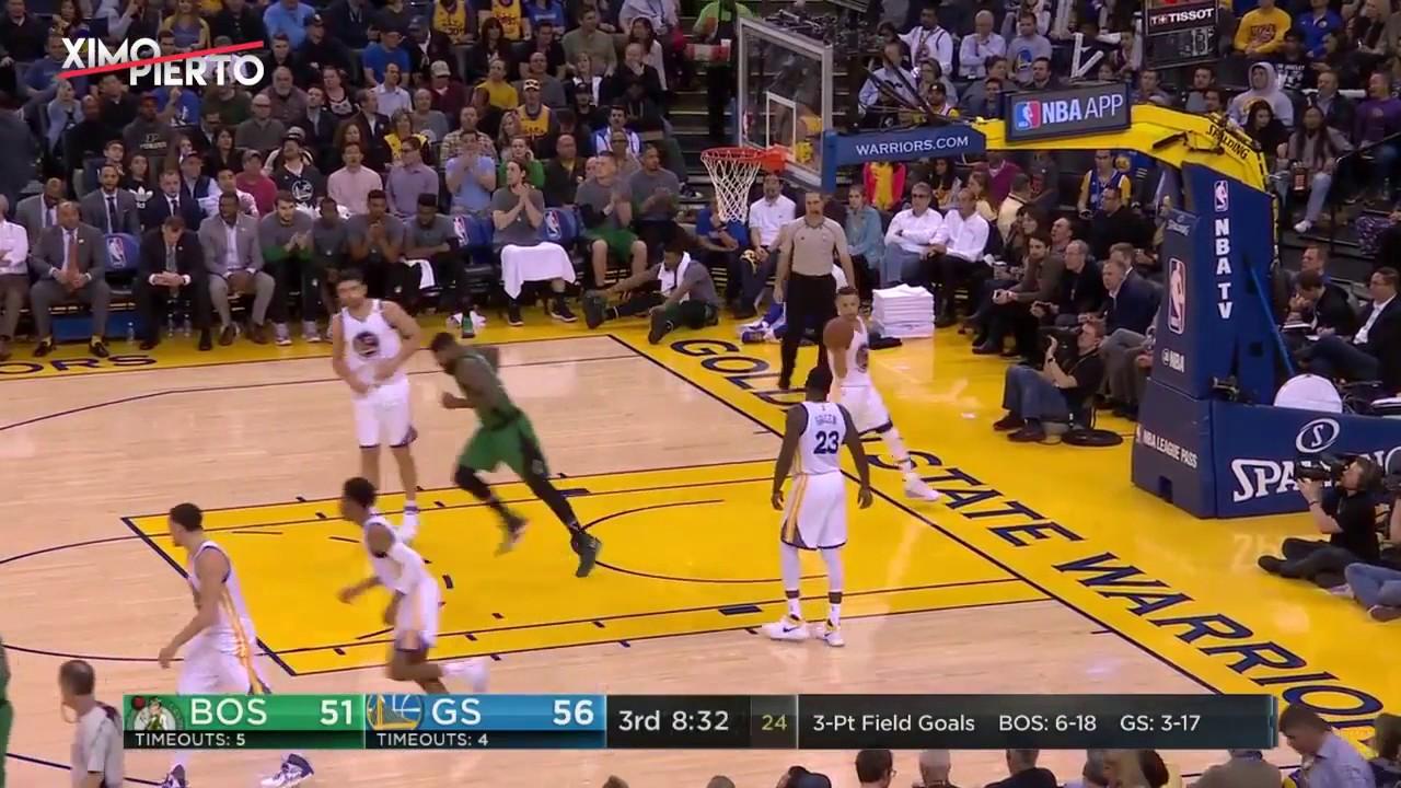 Boston Celtics vs Golden State Warriors - Full Game Highlights | March 8, 2017 | 2016-17 NBA