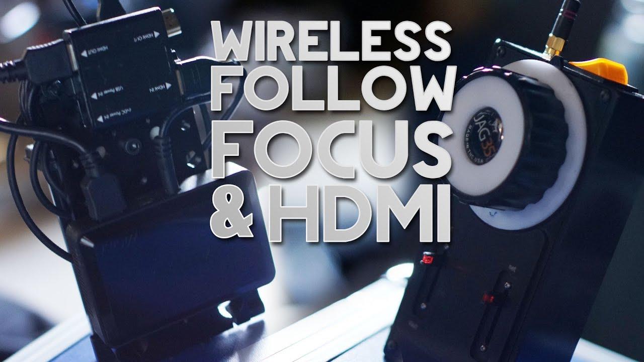 DVTV - Cheap wireless follow focus & HDMI