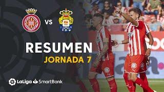 Resumen de Girona FC vs UD Las Palmas (1-0)