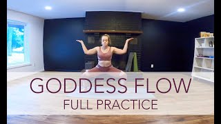 Goddess Flow - Full | Yoga Flow with Sara Ann Comte