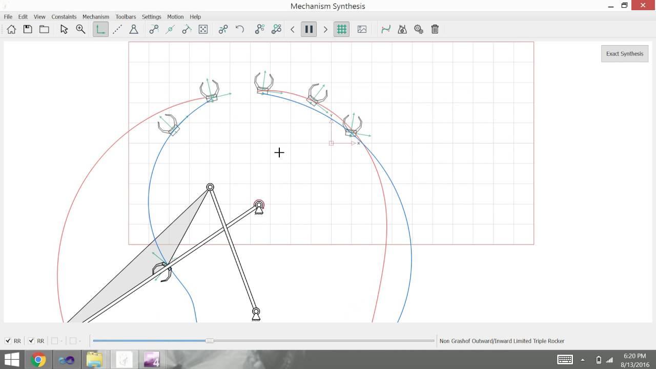 Four Bar Mechanism Design And Simulation Software