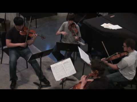The John S. Martin Honors String Quartet at the Levine School of Music