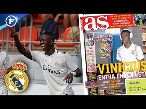 La grande chance de Vinicius avec le Real Madrid | Revue de presse thumbnail