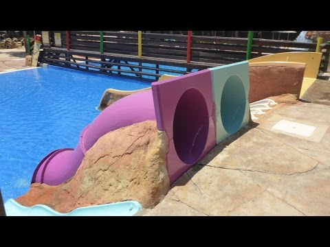 Western Park Magaluf - Kids' Lagoon Kinderrutschen Onride POV