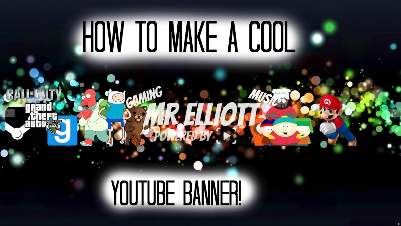 cool banners for youtube