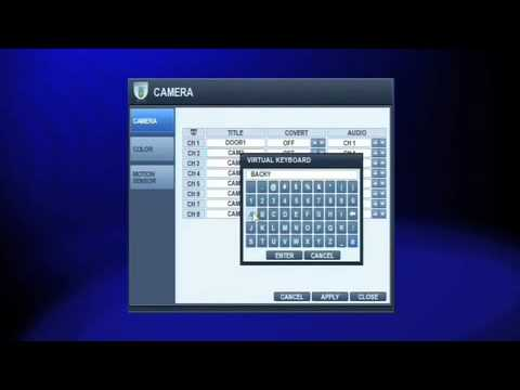 Samsung DVR Security System Installation - 8 Channel - YouTube