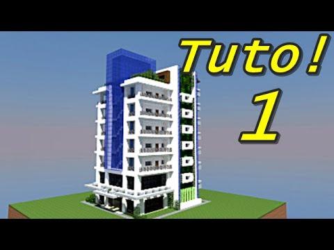 Minecraft tuto tour moderne 1 4 youtube - Immeuble minecraft moderne ...