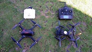 Drone MJX Bugs 3 VS Drone Walkera Runner 250 Basic 2
