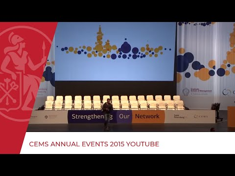 CEMS Annual Events 2015   YouTube
