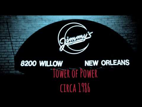 Tower of Power  (Jimmy's Night  Club Uptown New Orleans) Circa 1986!