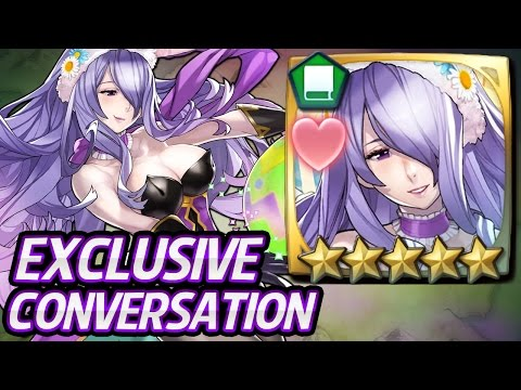 Fire Emblem Heroes - Bunny Camilla 5 star Lv40 Exclusive Conversation