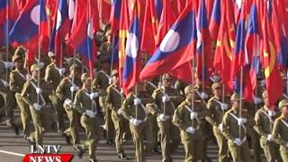 Lao NEWS on LNTV: Thousands of performers to mark National Day celebrations.13/11/2015