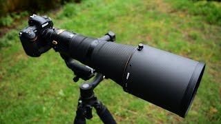 Nikon 600mm f/4E FL ED VR Unboxing