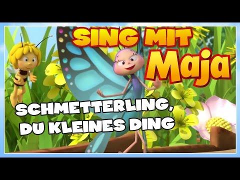 Sing mit der Biene Maja! ✿ Schmetterling, du kleines Ding ✿