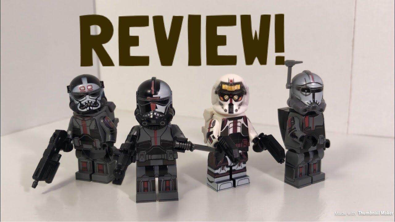 9PCS Star Clone Force 99 The Bad Batch Cody Rex Mini Figure Building Blocks Toy