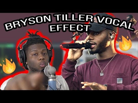 How to Sound Like Bryson Tiller Vocal Effect! Fl Studio