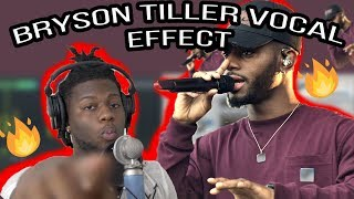 How to Sound Like Bryson Tiller Vocal Effect! Fl Studio