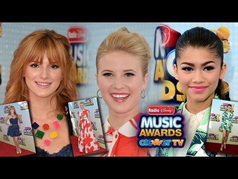Zendaya, Bella Thorne & Caroline Sunshine Best Dressed at Radio Disney Music Awards 2013
