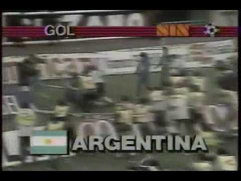gol de gareca a peru 1985 eliminatorias