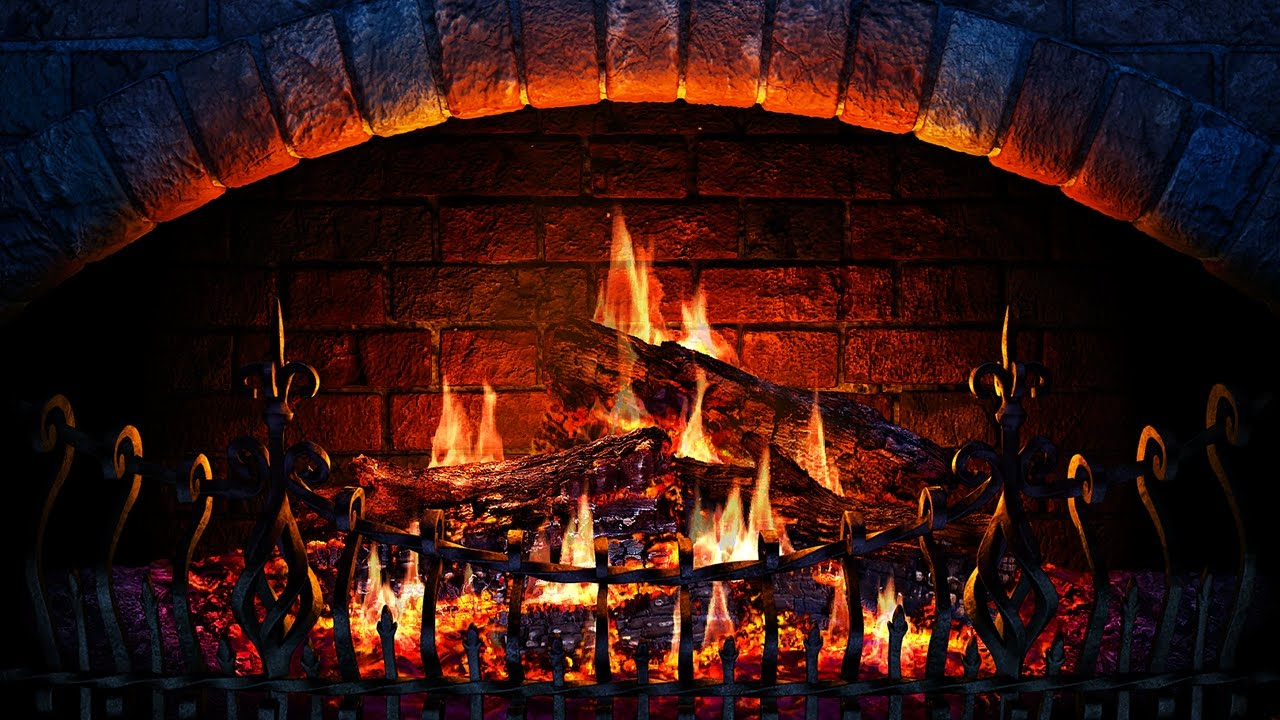 Fireplace 3d Screensaver Live Wallpaper Hd Youtube