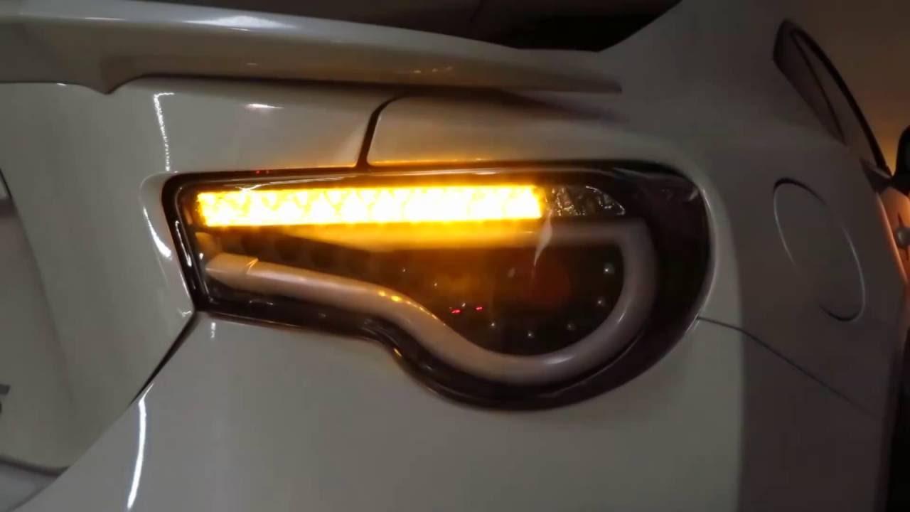 2013-2016 Scion FR-S / Subaru BRZ LED Tail Lights ...