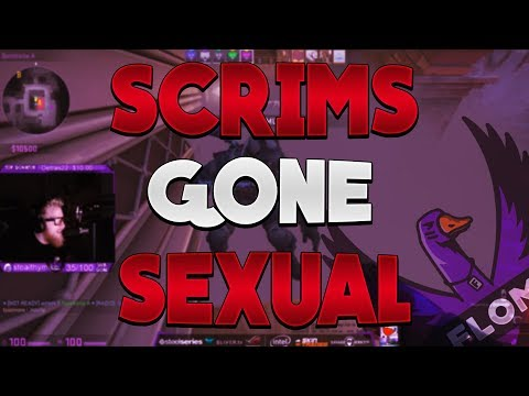 SCRIMS Gone SEXUAL - Stream Highlights #177
