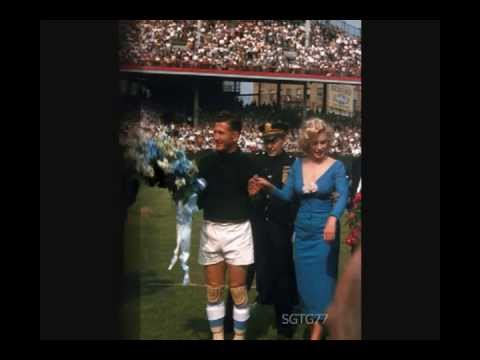 Marilyn Monroe Extremely Rare rehearsal Record with photos and footage at Ebbets Field 1957