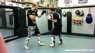 Throwing the Uppercut Punch – 3 Sparring Applications – MMA – Boxing – Muay Thai Techniques