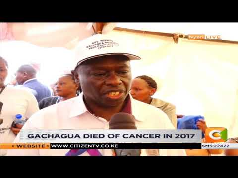Family marks second anniversary of the late Governor Gachagua