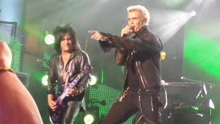 """BILLY IDOL - """"Eyes Without A Face"""" & """"Dancing With Myself"""" Live @ Jimmy Kimmel 10-21-14"""
