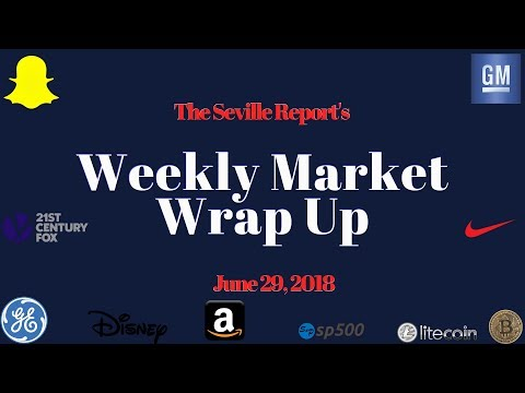 The 4 Minute Stock Market Weekly Wrap Up: June 29, 2018