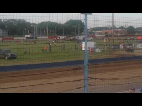 Richie Lex Crash   Terre Haute Action Track